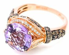 Cocktail Amethyst Fine Rings