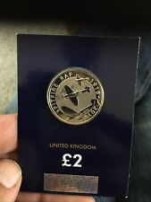 2018 RAF SPITFIRE £2 COIN TWO POUNDS BUNC IN SEALED CARD