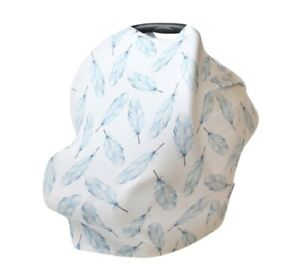 Antimicrobial Multi-Use Baby Cover: Nursing/Carseat/Highchair/carts