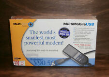MultiTech External 56K v.90 External USB Modem MT5634MU Data/Fax
