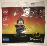 LEGO DISNEY PIXAR INCREDIBLES 2 EDNA MODE 30615 MINIFIGURE NEW IN BAG POLYBAG