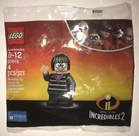 LEGO DISNEY PIXAR INCREDIBLES 2 EDNA MODE 30615 MINIFIGURE NEW IN BAG POLYBAG