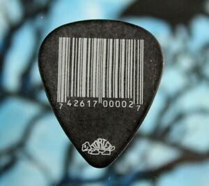 SLIPKNOT // Mick Thompson 2012 Concert Tour Guitar Pick // Black/White Barcode