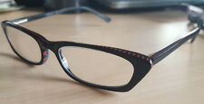 CHRISTIE BRINKLEY Designer Eyeglass Frames Betty 50 [] 16 140 mm Black w/case