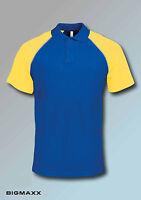 Kariban homme baseball haut polo t-shirt à manches courtes taille S jusqu'à