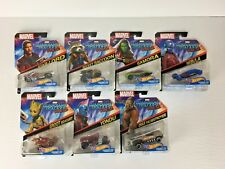 Marvel Hot Wheels - Lot of 7 Cars - Guardians of the Galaxy - Vol 2 - Star Lord