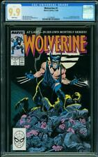 WOLVERINE #1 CGC MINT 9.9 WHITE PAGES!