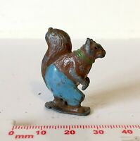 Vintage c1930's Britains Painted Lead CADBURYS COCOCUB NUTTY SQUIRREL Figure