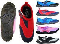 Nalu Hook and Loop Aqua Surf / Beach / Wetsuit Shoes ~ Kids 10 to Adults 12