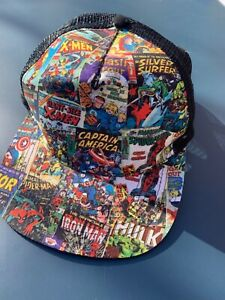 Marvel Comic Superhero Cap - excellent Condition -never worn