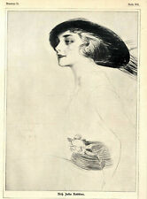 Amerikanerinnen Paul Cesar Helleu Künstler der Aristokratinnen XXL von 1913