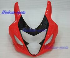 Front Nose Cowl Upper Fairing For SUZUKI GSXR600 GSXR750 2004-2005 K4 Red Black