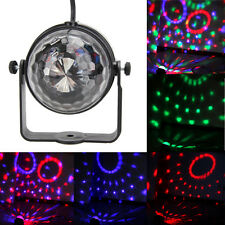 Mini RGB LED Crystal Magic Effet Ball Feux de scène Party Disco Club DJ KTV