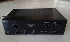 Stereo integrated amplifier SONY TA-F190, 1992, working