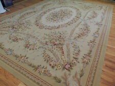 Brilliant Large French Aubusson Style Area Rug 10x14 Oriental Area Rug