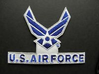 AIR FORCE WINGS USAF EMBROIDERED PATCH 3.5 INCHES