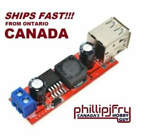 LM2596 DC 6V-40V To 5V 3A Dual USB Step-down Charge Converter Module. CANADA!!!