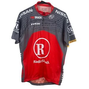 BONTRAGER Cycling Jersey Men's XL Full-Zip RADIO SHACK TREK NISSAN LIVESTRONG