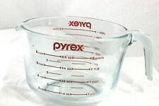 2 QT 2 Litre Pyrex Heat Resistant Glass Measuring Jug Kitchen Metric Imperial G