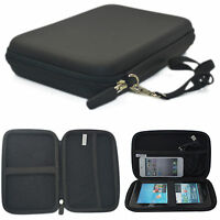 7Inch GPS Carrying Case Portable Hard Shell Protective Pouch Bag for Car GPS