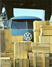 VOLKSWAGEN Transporter 1500 SPLIT SCREEN 1965-66 opuscolo le vendite sul Mercato olandese
