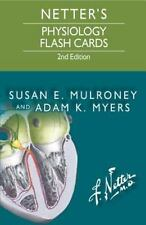 Netter Basic Science: Netter's Physiology Flash Cards by Adam Myers and Susan...