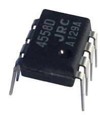 10 x JRC4558D 4558 amplificatore operazionale integrato integrated circuit