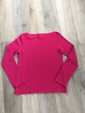 Michael Kors COLLECTION 100% Cashmere Sweater- Pink- XS