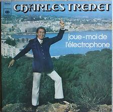 """CHARLES TRENET """"JOUE MOI DE L'ELECTROPHONE"""" 33T LP"""