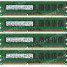 Samsung 32GB KIT 4X8GB PC3-12800E DDR3-1600Mhz 1.5V Desktop / Server Memory @4