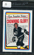 1990 Topps Wayne Gretzky #3 Mint (B)