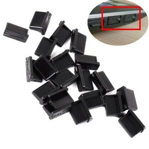 PVC Soft Rubber A Type Female USB Anti Dust Protector Plugs Stopper Cover 20Pcs