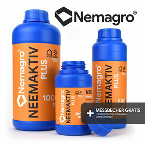 NEMAGRO® Neemaktiv - Neemöl / Niemöl mit Emulgator Rimulgan - 250ml 500ml 1l
