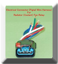 Electrical Connector of  Radiator Coolant Fan Relay Fits: Chrysler Dodge Jeep &