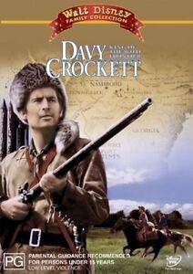 Davy Crockett - King Of The Wild Frontier DVD, NEW REGION 4