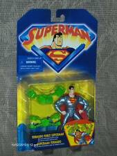KENNER TORNADO SUPERMAN 1998 new on card ACTION HERO