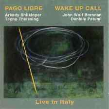 PAGO LIBRE - WAKE UP CALL (Live in Italy) - LEO RECORDS - CD - 1999 - MINT -