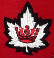 Blazer Crest: Royal Canadian Navy Officer's Cloth Patch