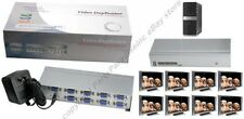 8way SVGA/VGA Splitter/Multiplier/Duplicator 8 way Amp