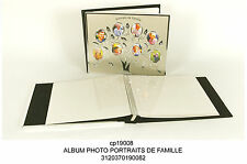 Family tree albero genealogico di famiglia album portafoto con foto inseribili