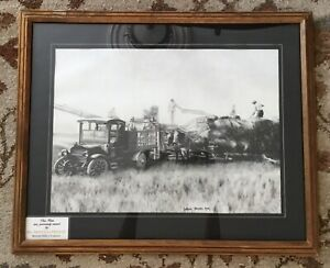 Harlan Bayard King Drawing - from Priscilla Presley estate sale