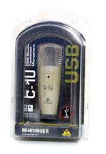 New ! BEHRINGER C-1U USB Studio Condenser Microphone Import JAPAN F/S