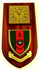 ROYAL MARINES COMMANDO TRAINING CENTRE CLASSIC HAND MADE TO ORDER WALL CLOCK