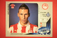 PANINI CHAMPIONS LEAGUE 2012/13 N.126 HOLEBAS OLYMPIACOS BLACK BACK MINT!