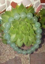 Pulsera de piedra aventurina verde natural