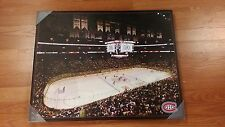 "NHL MONTREAL CANADIENS ARENA PICTURE CANVAS 22""X 28"" NEW NICE !"