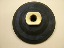 Rubber backing pad 100mm, M14 thread, hook & loop backing,for diamond polishing