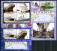 Tonga 2012 Titanic Schiff Ship Navi Bateaux PostfrischMNH