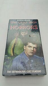 The little shop of horrors vhs cassette 1998