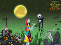 1000pcs The Nightmare Before Christmas Sally Wooden DIY Puzzle Jigsaw Xmas Gift